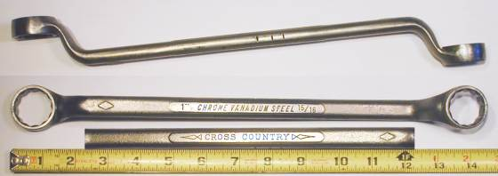 [Cross Country 15/16x1 Offset Box-End Wrench]