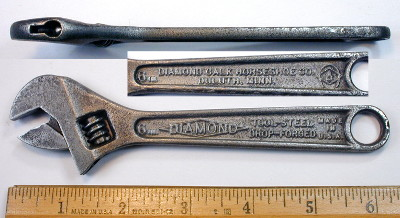 [Diamond 6 Inch Adjustable Wrench]