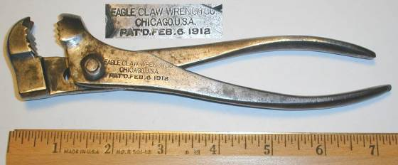 [Eagle Claw 7 Inch Plier-Wrench]