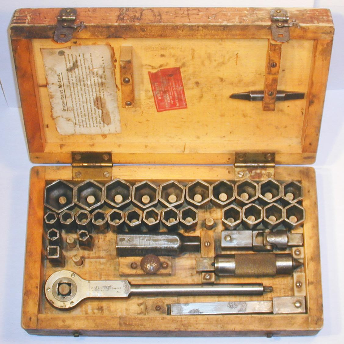 dating starrett tools