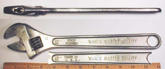 [Ward's Master Quality 12 Inch Adjustable Wrench]